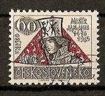 Sellos del Mundo : Europa : Checoslovaquia :  550 Aniversario de la muerte de Jan Hus.