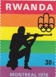 Sellos de Africa - Rwanda -  Olimpiada Montreal 1976