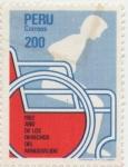 Sellos de America - Perú -  Año de los derechos de los minusválidos