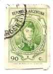 Sellos de America - Argentina -  procer