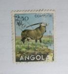 Sellos de Africa - Angola -  Animales. Gacela.