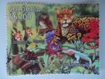 Sellos del Mundo : America : Colombia : Diversidad Biológica - Año Internacional de la Biodiversidad.