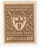 Sellos de Europa - Alemania -  Arms of Munich