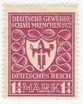 Sellos del Mundo : Europa : Alemania :  Arms of Munich