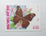 Sellos del Mundo : Africa : Cabo_Verde : Mariposas. Melanitis Lede.