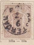 Sellos de Europa - Holanda -  Escudo Ed 1869