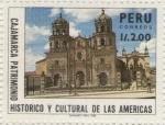 Sellos de America - Perú -  Catedral de Cajamarca