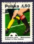 Sellos del Mundo : Europa : Polonia : Mundial Argentina 1978