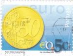 Sellos de Europa - Portugal -  Moneda de  0,50 €