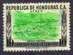 Sellos del Mundo : America : Honduras : estadio nacional