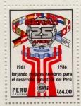 Sellos del Mundo : America : Perú : Senati