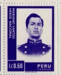 Sellos de America - Perú -  Policia Mariano Santos