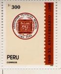 Sellos de America - Perú -  Asociacion Filatelica Peruana