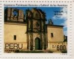 Sellos de America - Perú -  Iglesia Belen Cajamarca