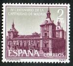 Sellos de Europa - España -  1390-  IV centenario de la capitalidad de Madrid. Casa de la Villa.
