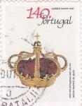 Sellos del Mundo : Europa : Portugal : corona real portuguesa
