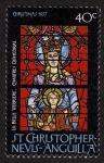 Sellos del Mundo : America : San_Cristóbal_y_Nevis : FRANCIA - Catedral de Chartres