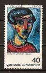 Sellos del Mundo : Europa : Alemania :  RFA - Expresionismo Aleman.