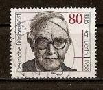 Sellos de Europa - Alemania -  RFA - Centenario del nacimiento de Karl Barth.