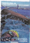 Sellos de Europa - España -  campeonatos del mundo de natacion barcelona 03