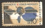 Sellos de America - Estados Unidos -  1050 - Misión del Mariner 10 a Venus y Mercurio