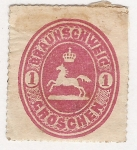 Sellos del Mundo : Europa : Alemania : Brunswich 1865