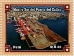 Sellos del Mundo : America : Perú : Muelle Sur Puerto del Callao 2011-05