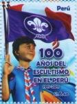 Sellos del Mundo : America : Perú :  100 años del Escultismo en el Perú 2011-06.1