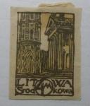 Sellos del Mundo : Europa : Lituania : Torre y Catedral Vilnius.