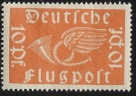 Sellos de Europa - Alemania -  Post horn with wings
