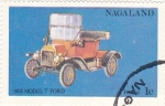 Sellos del Mundo : Asia : Nagaland : coches antiguos- 1908  modelo T.Ford