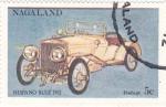 Sellos del Mundo : Asia : Nagaland : coches antiguos- hispano suiza 1912