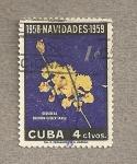 Sellos de America - Cuba -  Orquideas Oncidium gibertianus