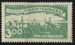 Sellos del Mundo : Europa : Alemania :  German States-Wurttemberg-View of Stuttcart North