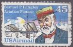 Sellos del Mundo : America : Estados_Unidos : Samuel Langley- pionero de la aviación