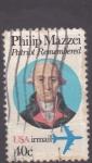 Sellos del Mundo : America : Estados_Unidos : Phipip Mazzei-patriota