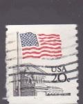 Sellos del Mundo : America : Estados_Unidos : bandera usa.