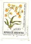 Sellos de America - Argentina -  Flores