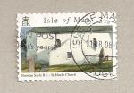Sellos del Mundo : Europa : Isla_de_Man : Iglesia de San Mark