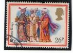 Sellos del Mundo : Europa : Reino_Unido : Los tres reyes magos