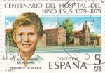 Sellos de Europa - España -  centenario del hospital del niño jesus 1879-1979