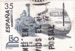 Sellos de Europa - España -  150 años de ferrocarril en españa