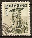 Sellos de Europa - Austria -  Trajes folklóricos de Austria.