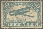 Sellos del Mundo : Europa : Alemania : Timbre postal aéreo