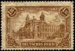 Sellos del Mundo : Europa : Alemania : República de Weimar, hotel reichspostamt-in-berlin