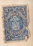Sellos del Mundo : America : Chile : Impuesto Ed 1900