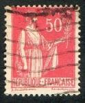 Sellos del Mundo : Europa : Francia : Republique Francaise . Postes.