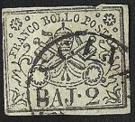 Sellos de Europa - Italia -  Papal Arms