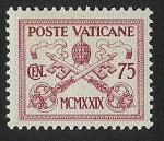 Sellos de Europa - Vaticano -  Papal Arms