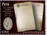 Sellos de America - Perú -  Archivo de la Nación Perú